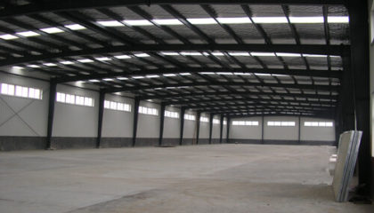Industrial Steel Warehouse Building